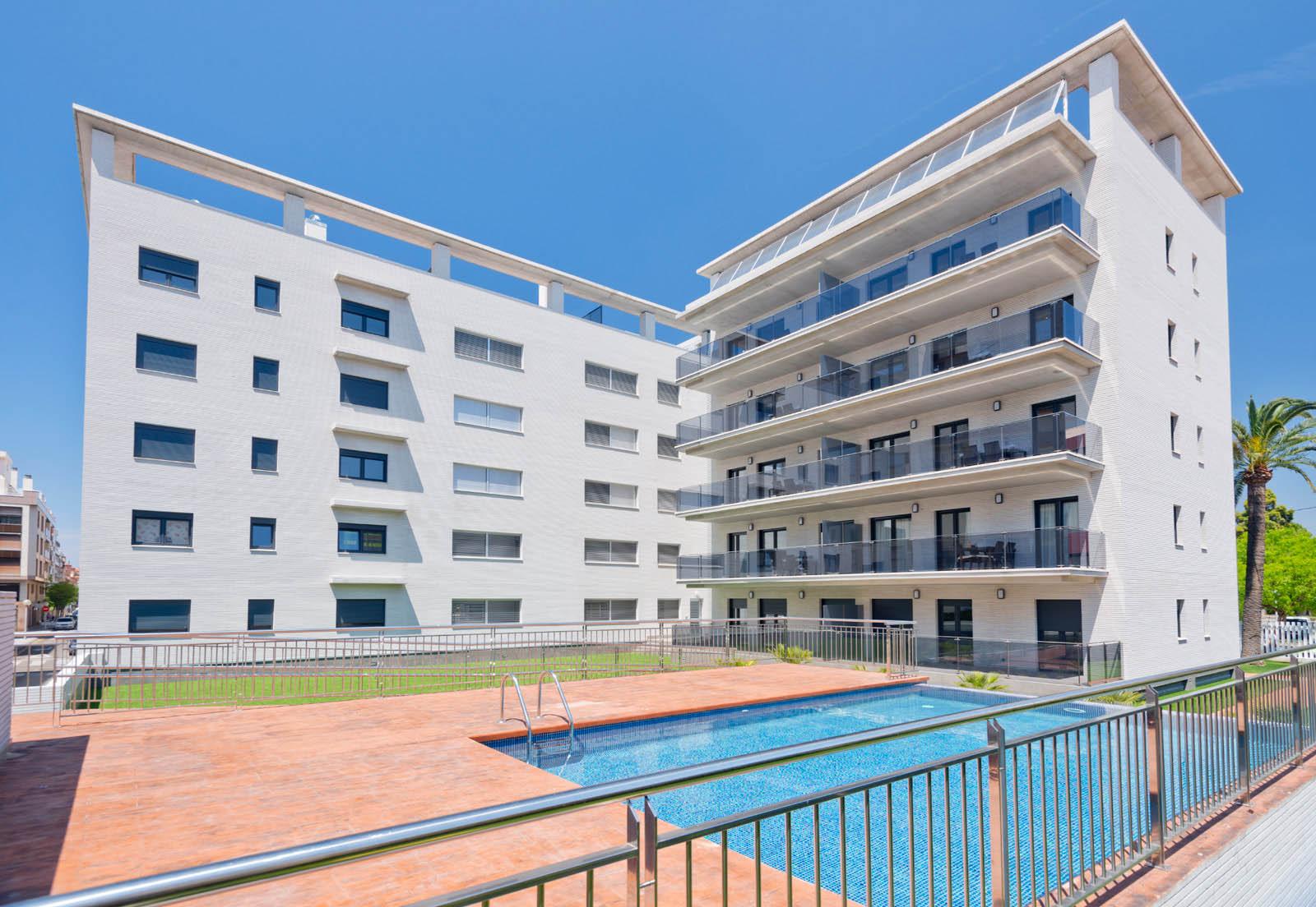 Fotos apartamentos las palmas viii salou tarragona espa a - Apartamentos puerto rico las palmas ...